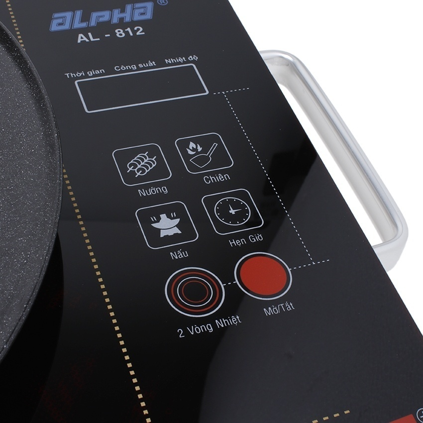 bếp điện hồng ngoại đa năng alpha al-812